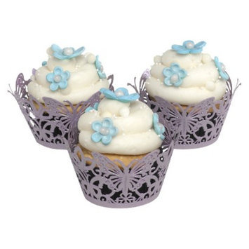 Hortense B. Hewitt 30322 Lavender Decorative Cupcake Wraps