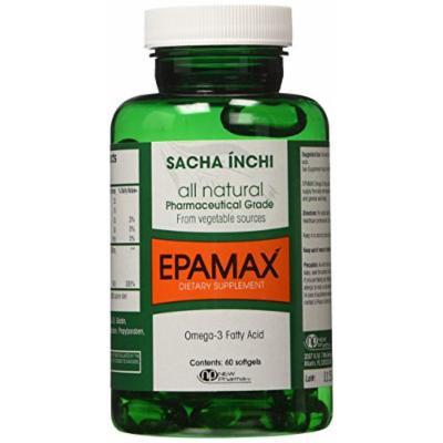 Sacha Inchi- Epamax, 900mg, 60 SoftGels, 100% Vegetable Source of Omega 3 Fatty Acids