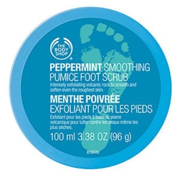 The Body Shop Peppermint Cooling Pumice Foot Scrub