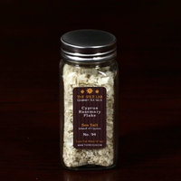 Gourmet Salt Company The Spice Lab Rosemary Cyprus Flake Finishing Sea Salt-In Spice Bottle-Island of Cyprus, 1-Count Package