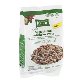 Kashi® Steam Meal Spinach and Artichoke Pasta