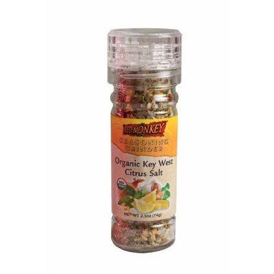 Red Monkey Foods Key West Citrus Salt Grinder, 2.6-Ounce Bottles (Pack of 6)