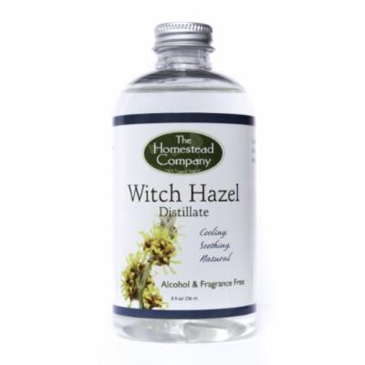 Witch Hazel Distillate (Alcohol Free & Fragrance Free) Bundle: Witch Hazel Distillate + Facial Cleansing Cotton Pads (100 pack)
