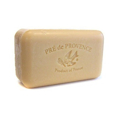 Pre de Provence Pecan Soap, 150g wrapped bar. Imported from France. With shea butter and natural herbs and scents.