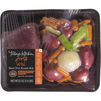 Today's Kitchen Beef Pot Roast Kit with Vegetables, 62 oz.