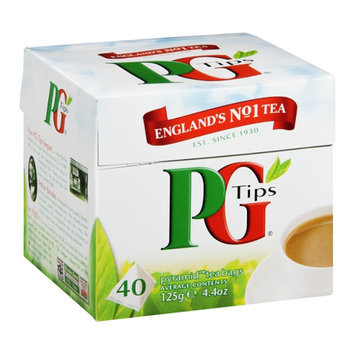 PG Tips Tea Bags Pyramid 40 CT