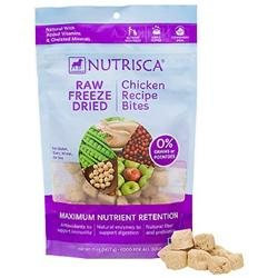 Dogswell NUTRISCA ChickenDinner Bites Freeze Dried Dog Treats, 5 oz.