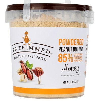 PB Trimmed Powdered Peanut Butter (Honey, 16 Oz)