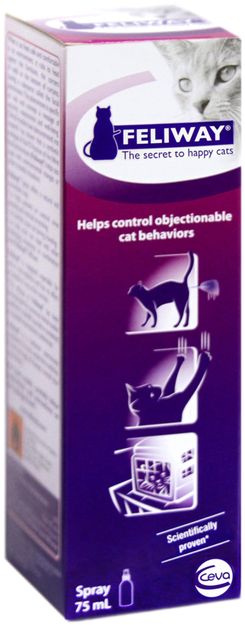 Feliway Behavior Modifier, 75ml Spray, ORM-D