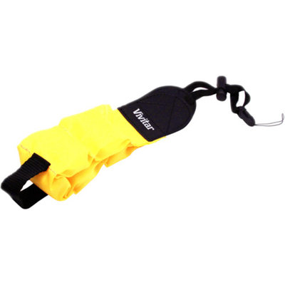 Vivitar Floating Foam Camera Strap (Yellow)