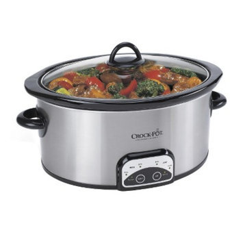 Crock Pot Crock-Pot Smart-Pot Digital Slow Cooker- Silver