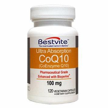 Coenzyme CoQ10 100mg (120 Vegetarian Capsules) Naturally Fermented