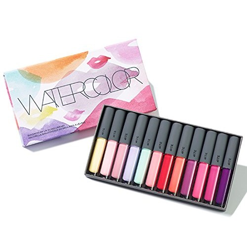 Bite Beauty Watercolor Lip Gloss Library for April 2015