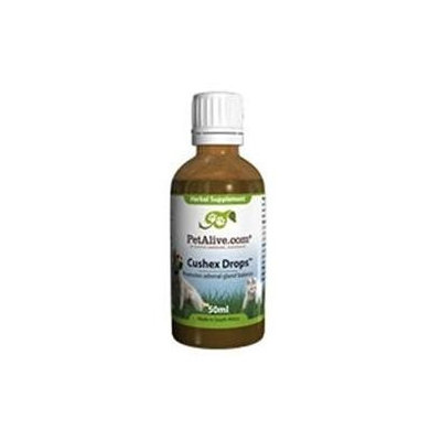 PetAlive Cushex Drops for Adrenal & Pituitary Gland Health