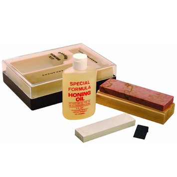 Gatco Natural Arkansas Sharpening Kit