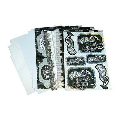 Kanban Crafts Birds of Paradise Luxury Card Making Kit