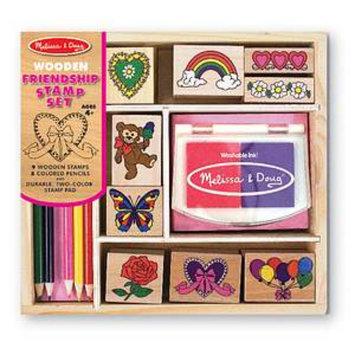 Melissa & Doug - Friendship Stamp Set (Children's)