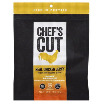 Chef's Cut JERKY, CHICKEN HONEY BBQ, (Pack of 8)