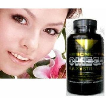 3 Bottles-Absonutrix Omega 3 Max Strength Fish Oil EPA-800 DHA-600 Pharmaceutical Grade