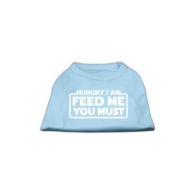 Ahi Hungry I am Screen Print Shirt Baby Blue Sm (10)