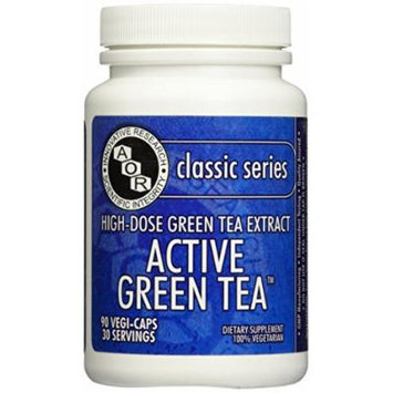 Advanced Orthomolecular Research AOR Active Green Tea, 90 Count