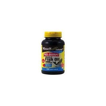 Mason Vitamins Mason Natural Fish Oil 1000 mg omega-3 no burp softgels - 180 ea