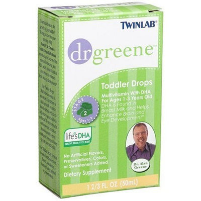 Twinlab dr greene Toddler Drops Multi-Vitamin with DHA, 1 2/3 Ounce
