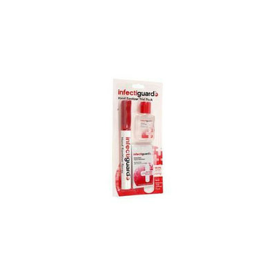 Trademark Commerce Infectiguard Sanitizer Trial Pack - 3 Pc.