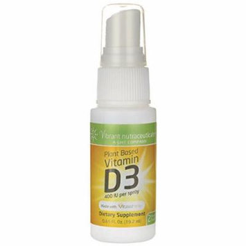 Global Health Trax Vitamin D3 Spray - Plant Based 400 Iu 0.65 fl oz Liquid