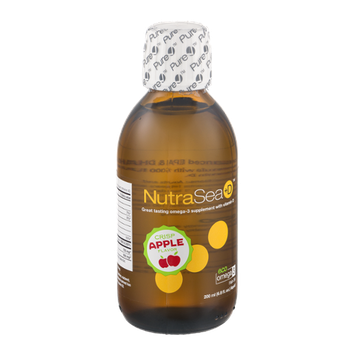 NutraSea+D Omega-3 Supplement with Vitamin D Crisp Apple Flavor