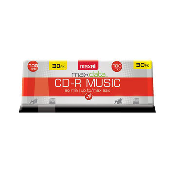 Maxell 30-Pack CD-R Music Spindle