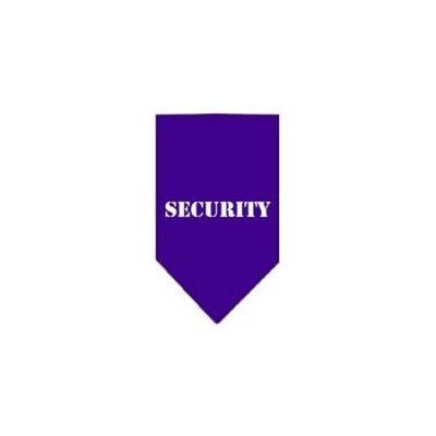 Ahi Security Screen Print Bandana Purple Small