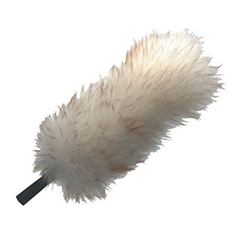 UNGER LWDU0 Bendable Head Duster,15 In, Lambswool