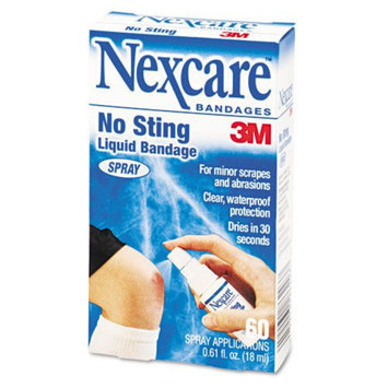Kmart.com 3M Nexcare No-Sting Liquid Bandage Spray, .61 ounce