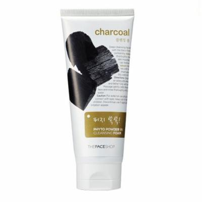 TheFaceShop Charcoal Phyto Powder in Cleansing Foam 170 Poman