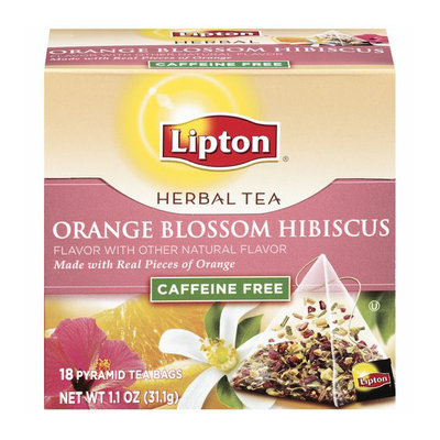 Lipton® Orange Blossom Hibiscus Herbal Tea