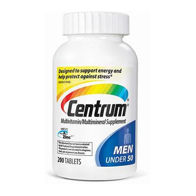 Centrum Multivitamin / Multimineral Supplement for men under 50  200 ct