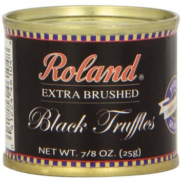 Roland Extra Brushed Black Truffles, 0.88-Ounce Can