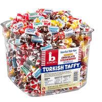 Bonomos Bonomo Turkish Taffy Assorted Twists Bulk Tub, 216 Count Net Weight 3 lbs ( 1.4 kg )