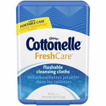 Cottonelle® FreshCare® Flushable Cleansing Cloths