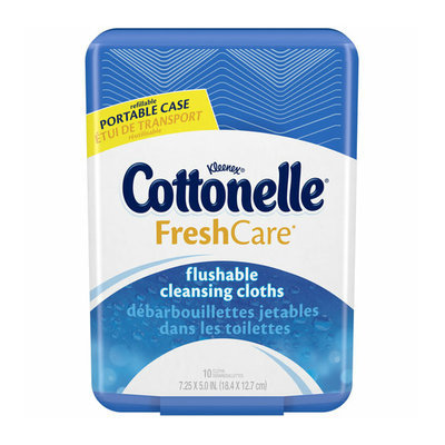 Cottonelle® FreshCare® Flushable Cleansing Cloths
