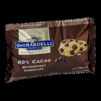 Ghirardelli Chocolate Baking Chips 60% Cacao Bittersweet Chocolate