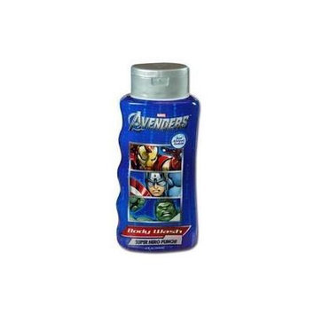 Marvel AVENGERS Body Wash, Super Hero Punch, Hypoallergenic formula, 12 Fl Oz