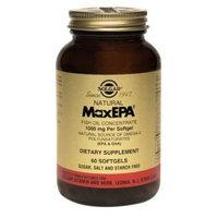 MaxEPA 1000 mg - Regulate cholesterol transport, blood pressure, gramsastric secretions, 120 Softgels,(Solgar)