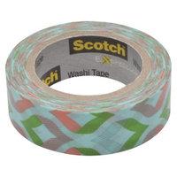 Scotch Washi Tape Peach/Mint 10mX15mm