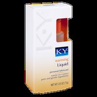 K-Y Warming Liquid Personal Lubricant
