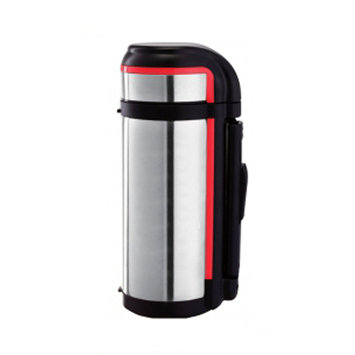 Brentwood Vacuum Food Thermos with Handle Color: Stainless Steel, Size: 1.05 Qt.