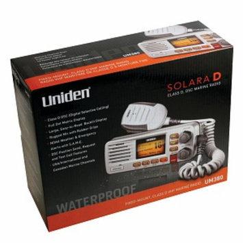 Uniden Um380 Fixed Mount Vhf 2-way Marine Radio, White, 1 ea