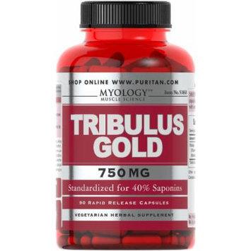 Myology Tribulus Gold Standardized Extract 750 mg-90 Capsules