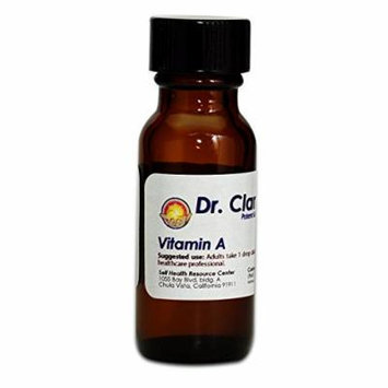 Dr. Clark Liquid Vitamin A Supplement, 10cc, 340 drops